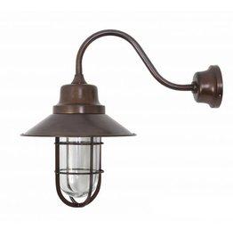 Industriële verlichting Buitenlamp Vermont Antiek Brass