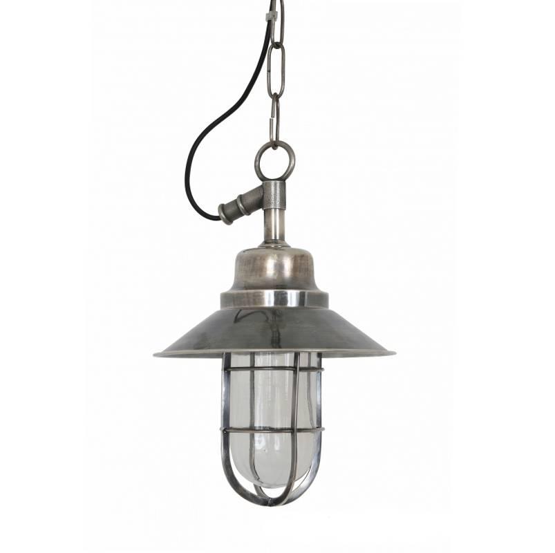 Industriële verlichting Buitenlamp Vermont Antiek Zilver