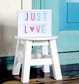 "a Little Lovely Company Lightbox extra letters ""pastel"""