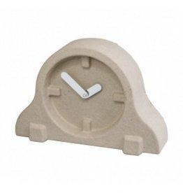 Present Time Paper pulp tafel Klok