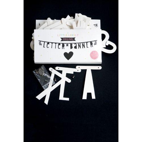 a Little Lovely Company Letterslinger banner Wit