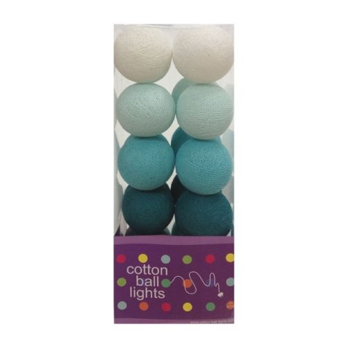 Cottonball Lights Cotton Ball Lights Blauw / Aqua mix