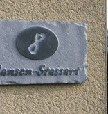 La Pierre Stones Natuursteen huisnummerbordje Board 8