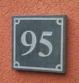 La Pierre Stones Natuursteen huisnummerbordje Square 2