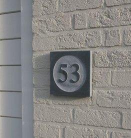 La Pierre Stones Natuursteen huisnummerbordje Style 2