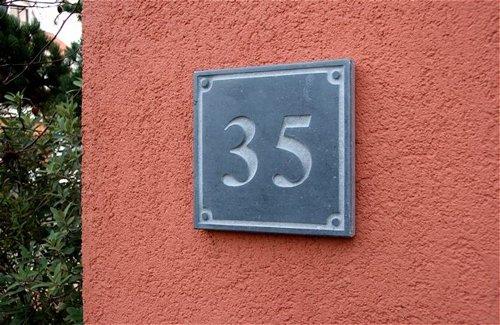 La Pierre Stones Natuursteen huisnummerbordje Style 3