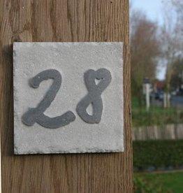 La Pierre Stones Natuursteen huisnummerbordje Style 6