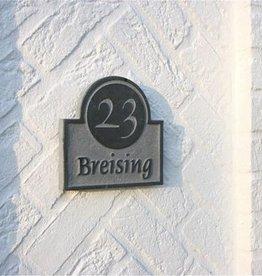 La Pierre Stones Natuursteen huisnummerbordje Axis