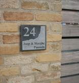 La Pierre Stones Natuursteen huisnummerbordje Style 7