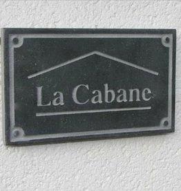 La Pierre Stones Natuursteen huisnummerbordje Board 6