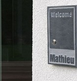 La Pierre Stones Natuursteen huisnummerbordje Fairgate 2