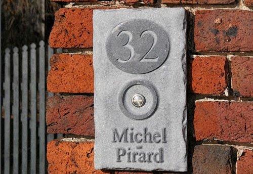 La Pierre Stones Natuursteen huisnummerbordje Fairgate 4