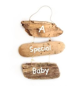 Puur Basic Home selection Houten decoratie hanger babykamer