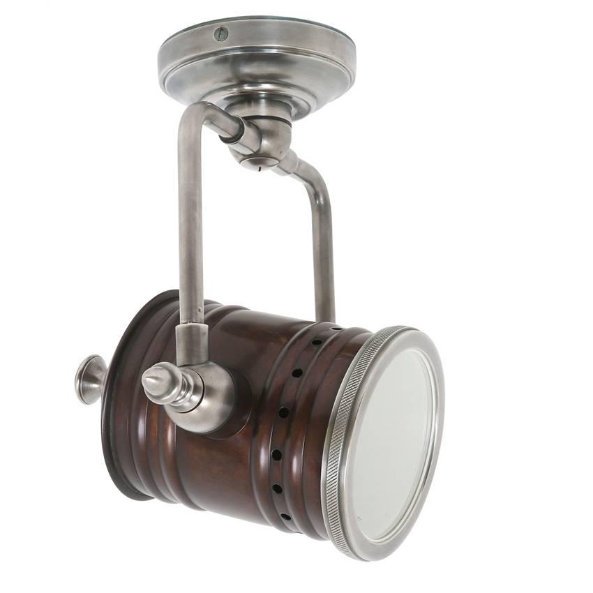 Industriële verlichting Wandlamp Fresno Vintage dark brass