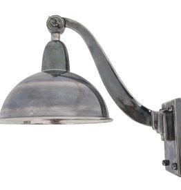 Industriële verlichting Wandlamp Halifax Antiek Zilver
