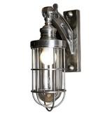 Industriële verlichting Wandlamp Hudson Antiek Zilver