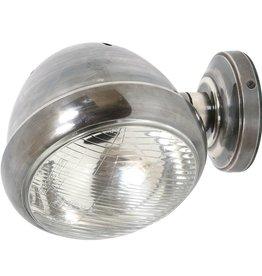 Industriële verlichting Wandlamp Silverstone Antiek Zilver