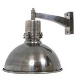Industriële verlichting Wandlamp Rochdale Antiek Zilver