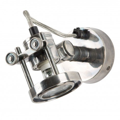 Industriële verlichting Wandlamp / Spotje Prescott Antiek Zilver