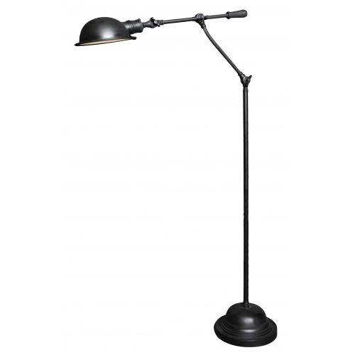 Industriële verlichting IndustriÃ«le vloerlamp Dover Antiek Mat Zwart