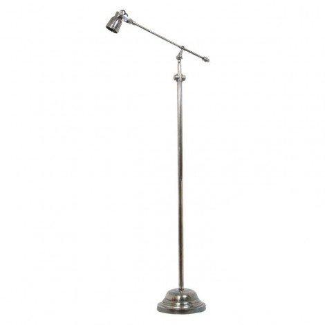 Industriële verlichting IndustriÃ«le vloerlamp Kody Antiek Zilver