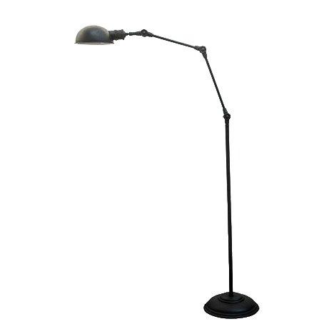 Industriële verlichting IndustriÃ«le vloerlamp Nova Antiek Mat Zwart