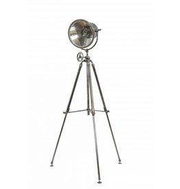 Industriële verlichting Vloerlamp Paramount Antiek Zilver