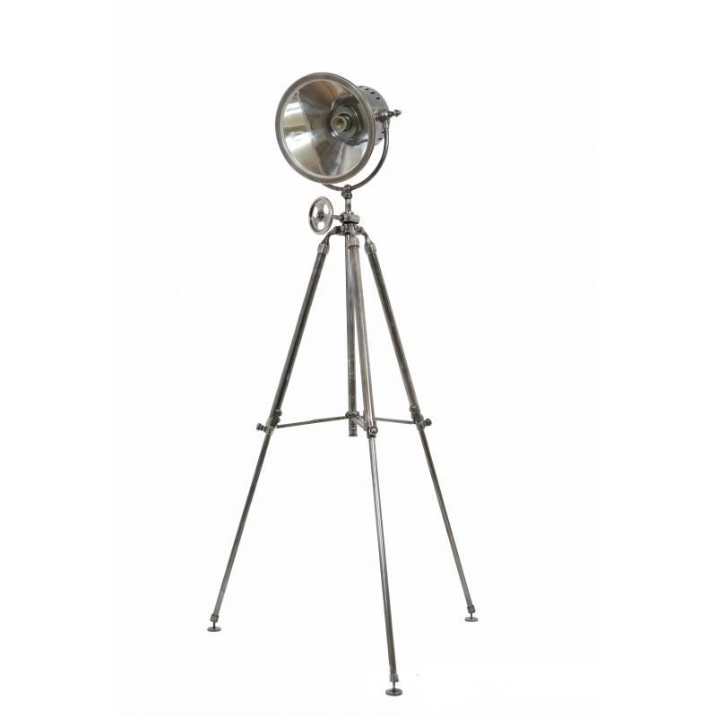 Industriële verlichting IndustriÃ«le vloerlamp Paramount Antiek Zilver