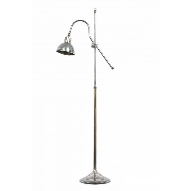 Industriële verlichting IndustriÃ«le vloerlamp Verona Antiek Zilver