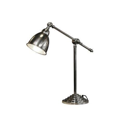 Industriële verlichting IndustriÃ«le tafellamp Berkley Antiek Zilver