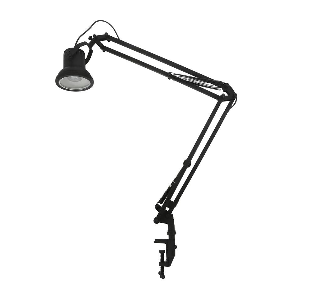 Industriële verlichting IndustriÃ«le tafellamp Cornell Antiek Mat Zwart