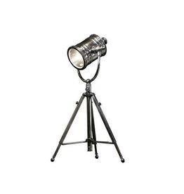 Industriële verlichting Tafellamp Hollywood Antiek Zilver