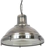 Industriële verlichting IndustriÃ«le hanglamp Agra Antiek Zilver
