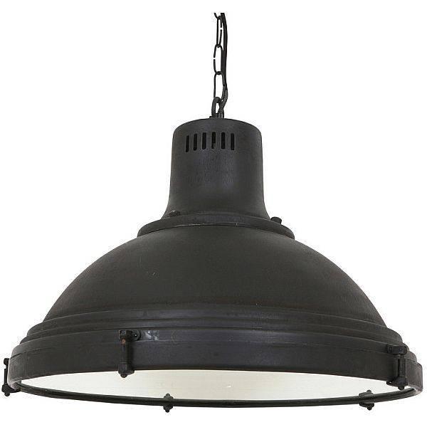 Industriële verlichting IndustriÃ«le hanglamp Agra Antiek Mat Zwart