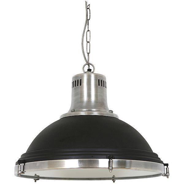 Industriële verlichting IndustriÃ«le hanglamp Agra Vintage steel black