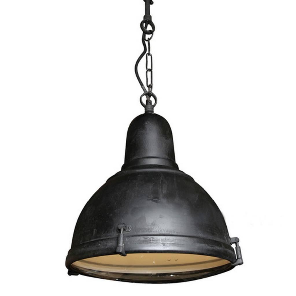 Industriële verlichting IndustriÃ«le hanglamp Albion Antiek Mat Zwart