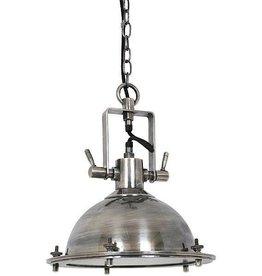 Industriële verlichting Hanglamp Beaufort Antiek Zilver