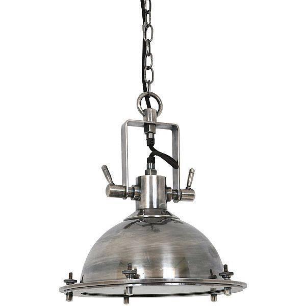 Industriële verlichting IndustriÃ«le hanglamp Beaufort Antiek Zilver