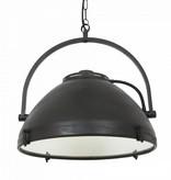 Industriële verlichting IndustriÃ«le hanglamp Bombay Antiek Mat Zwart