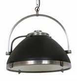 Industriële verlichting IndustriÃ«le hanglamp Bombay Vintage steel black