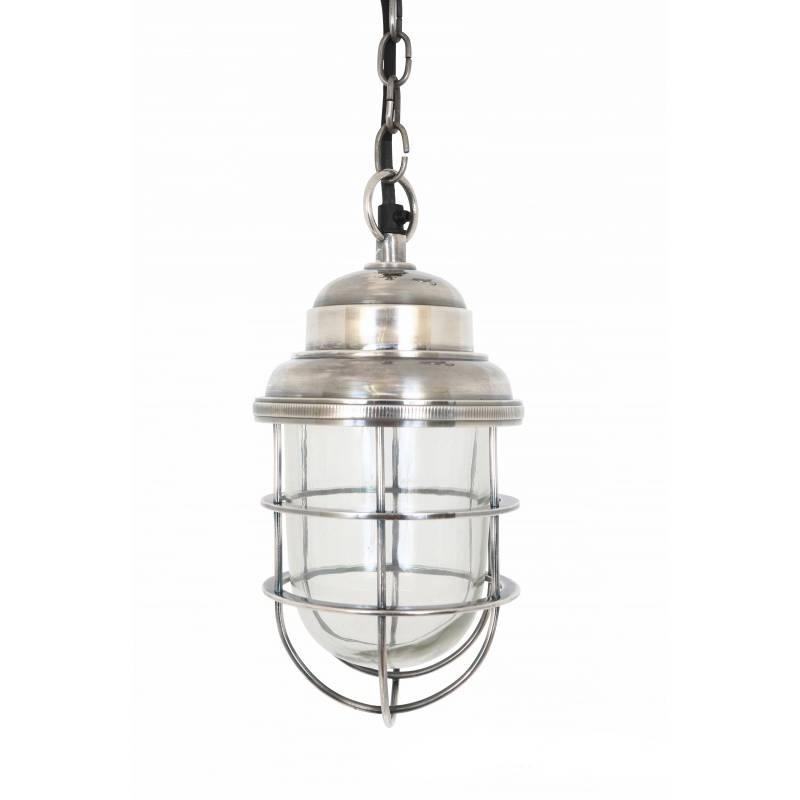 Industriële verlichting IndustriÃ«le hanglamp Cornwall Antiek Zilver