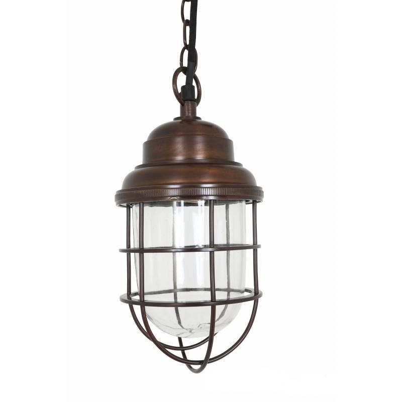 Industriële verlichting IndustriÃ«le hanglamp Cornwall Antiek dark brass koper