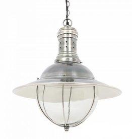 Industriële verlichting Hanglamp Corsair Antiek Zilver