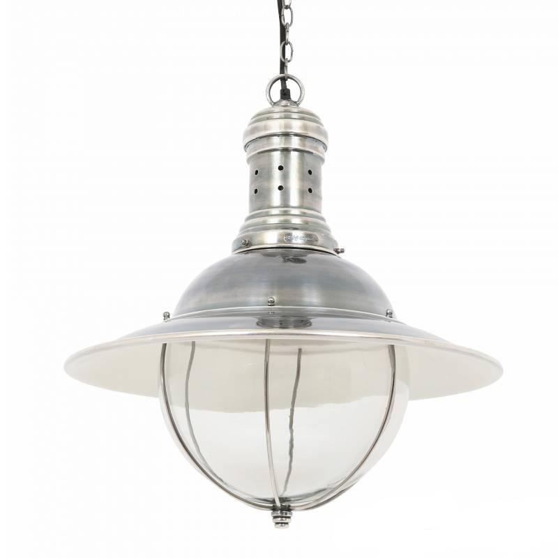 Industriële verlichting IndustriÃ«le hanglamp Corsair Antiek Zilver