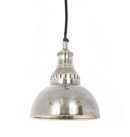 Industriële verlichting Hanglamp Dakota Antiek Zilver