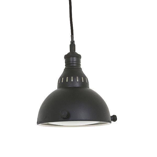 Industriële verlichting IndustriÃ«le hanglamp Elysee Antiek Mat Zwart
