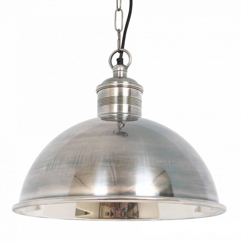Industriële verlichting IndustriÃ«le hanglamp Everest Antiek Zilver