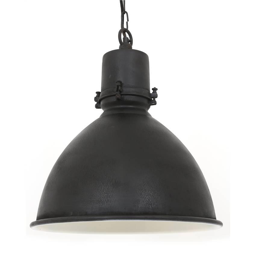 Industriële verlichting Industriële hanglamp Falcon Antiek Mat Zwart