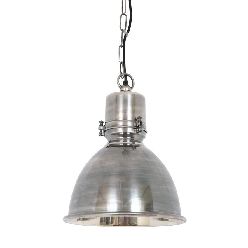 Industriële verlichting IndustriÃ«le hanglamp Dipper Antiek Zilver
