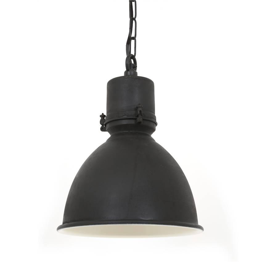 Industriële verlichting IndustriÃ«le hanglamp Dipper Antiek Mat Zwart